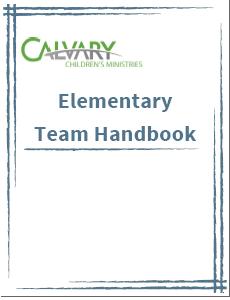 Volunteer Handbook - Elementary