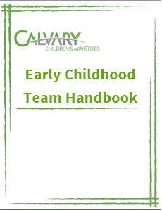Volunteer Handbook - Early Childhood