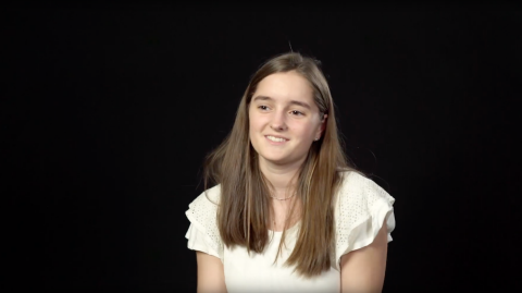 Hailey Leaman - Baptism
